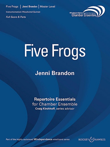 Five Frogs Cover