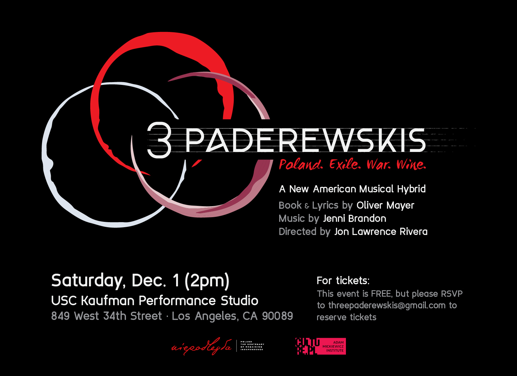 THREE PADEREWSKIS: A New American Musical Hybrid – New Video