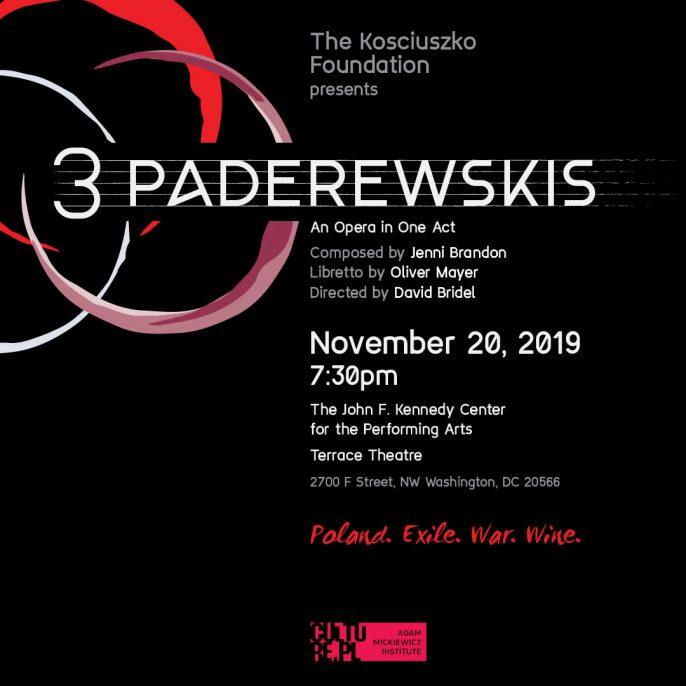 Kennedy Center Performance of 3 Paderewskis by Jenni Brandon