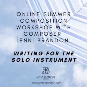 online summer composition workshop
