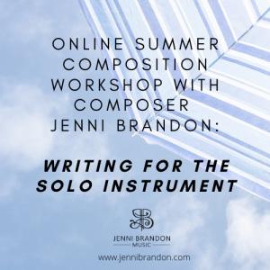 Online Summer Composition Workshop