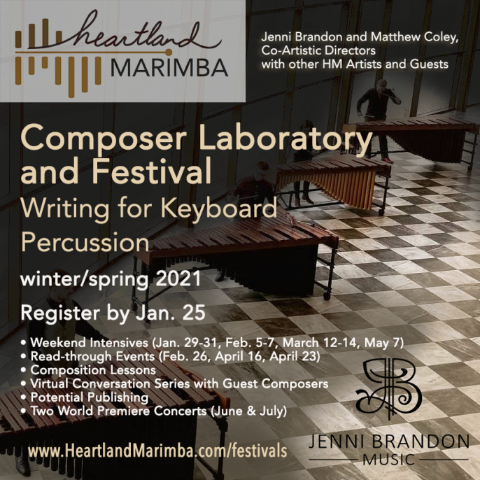 Composer & Laboratory Festival: Writing for Keyboard Percussion