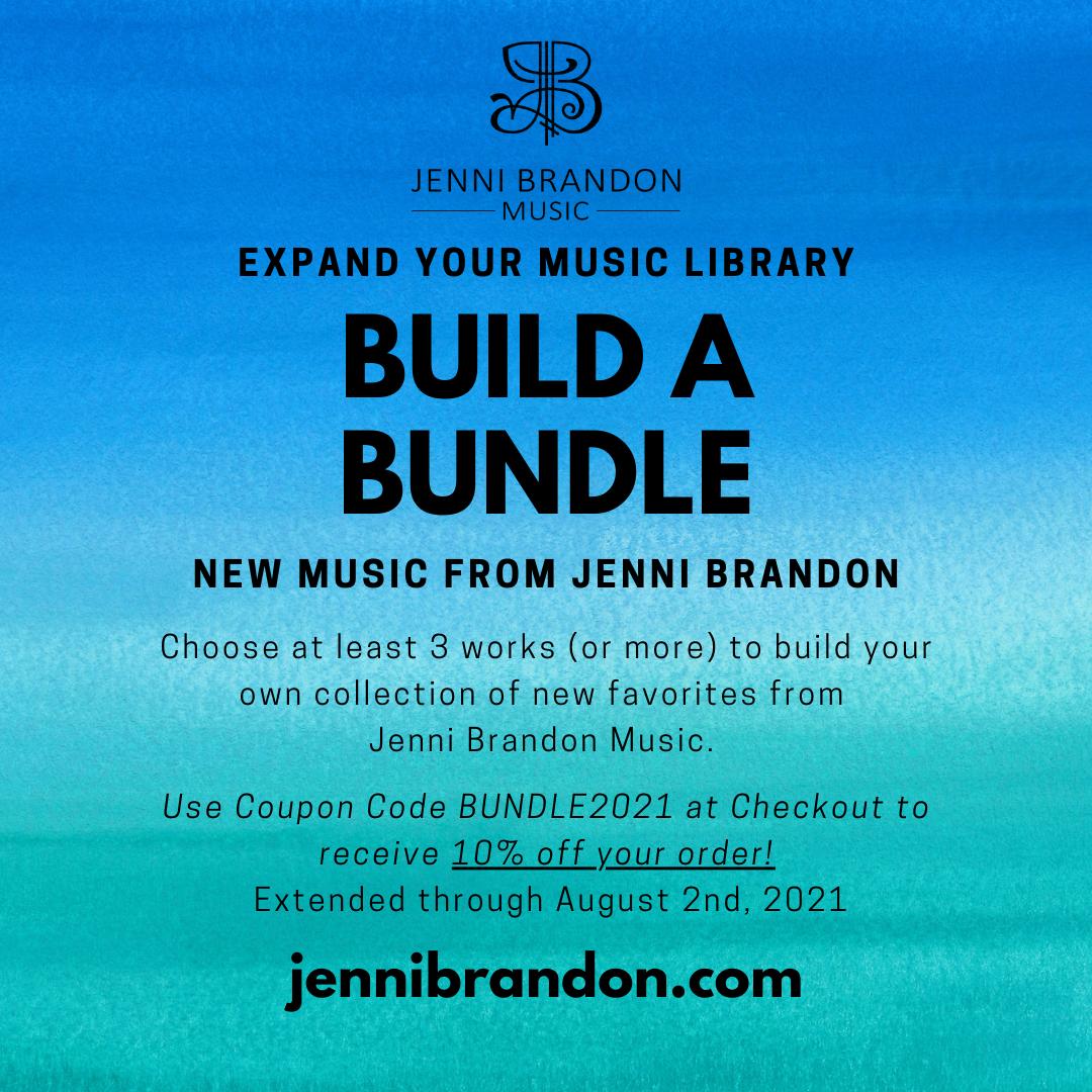 New Scores by Jenni Brandon – Build a Bundle