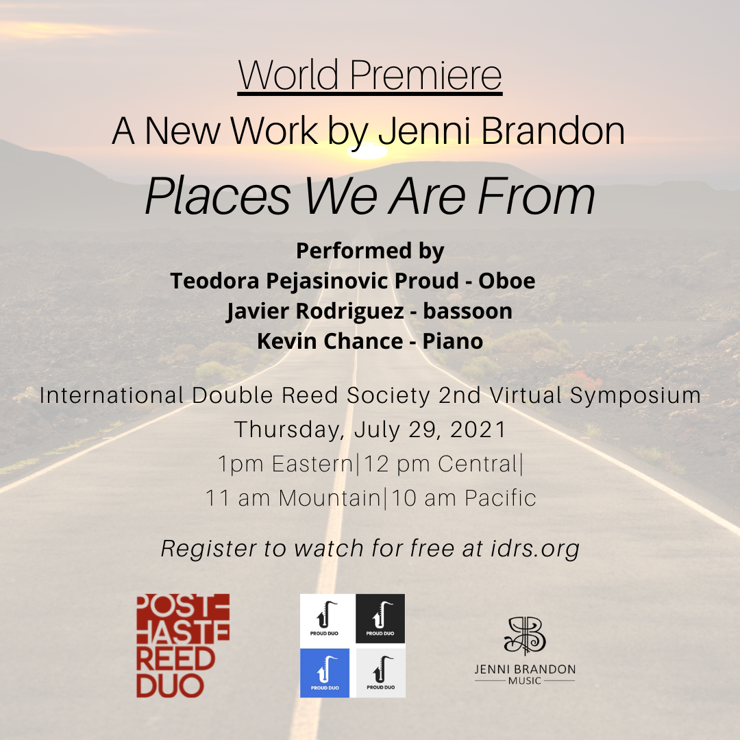 """A New Work by Jenni Brandon – """"Places We Are From"""""""